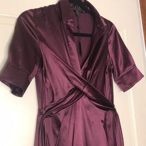 Bcbg maxazria silk dress